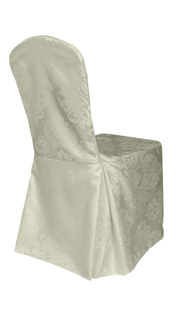 S Linen Damask Chair Covers