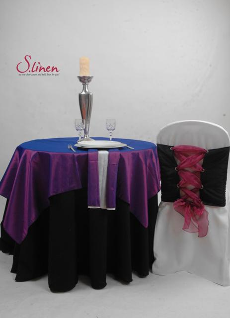 S Linen Table Overlays